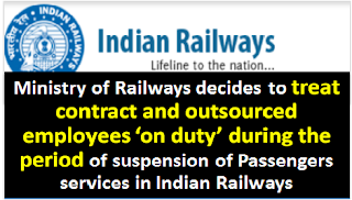 treat-contract-and-outsourced-employees-on-duty-during-suspension-of-services-lockdown-indian-railways