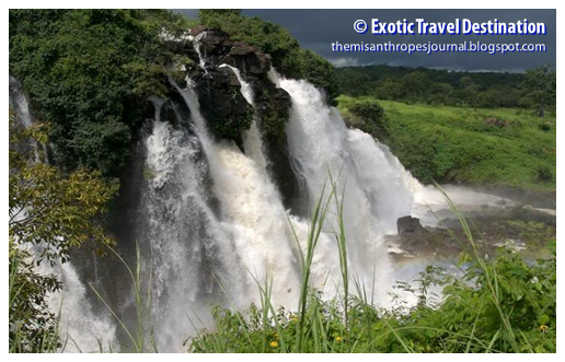 Boali Waterfalls, southwestern Central African Republic