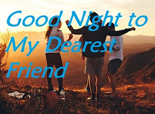 good night images for dearest friend