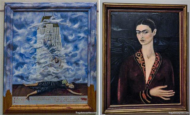 Obras de Frida Kahlo: Autorretrato e O Suicídio de Dorothy Hale