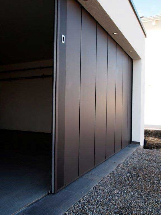 Contoh Model Pintu Lipat Besi Ruko Dan Garasi Rumah ...
