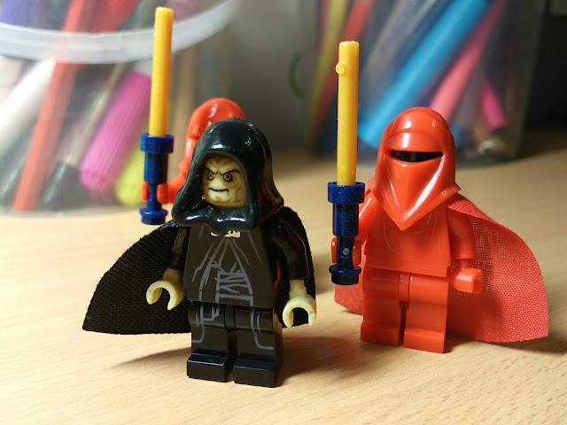 Алая гвардия, Охрана императора Палпатина, Имперская стража фигурки лего Звездные войны
