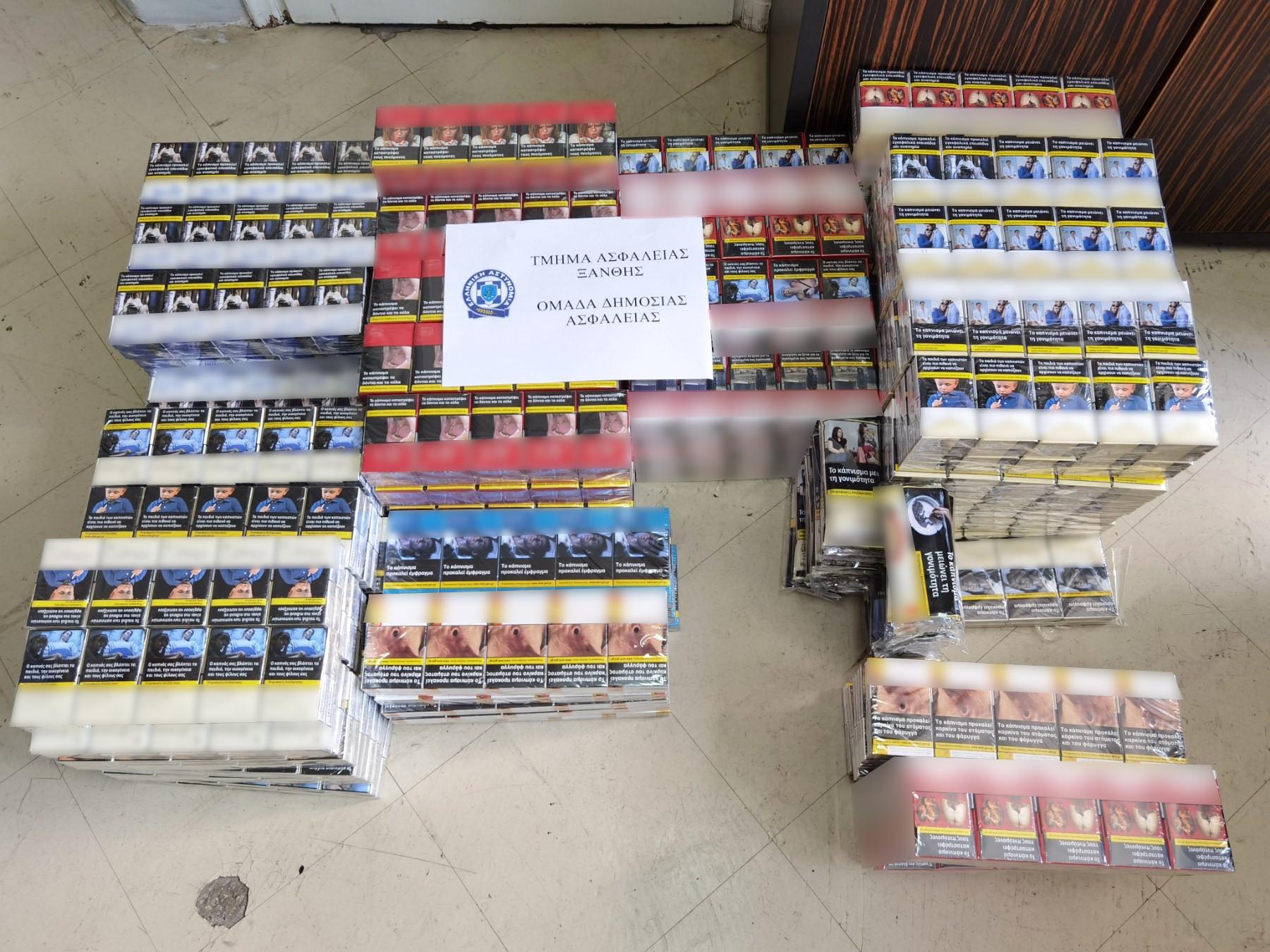 Ξάνθη: Έκρυβε εκατοντάδες λαθραία τσιγάρα και καπνό σε αποθήκη