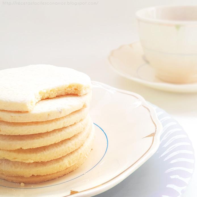galletas dulces de harina de arroz