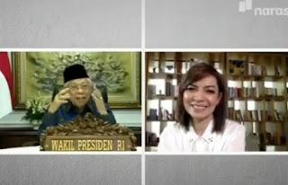 Dilupakan Jokowi, Ini Tanggapan Ma'ruf Amin Yang Bikin Najwa Shihab Ketawa Ngakak