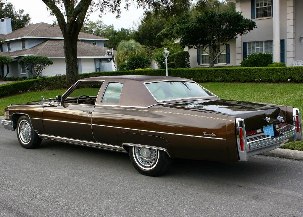 All American Classic Cars: 1974 Cadillac Coupe De Ville 2