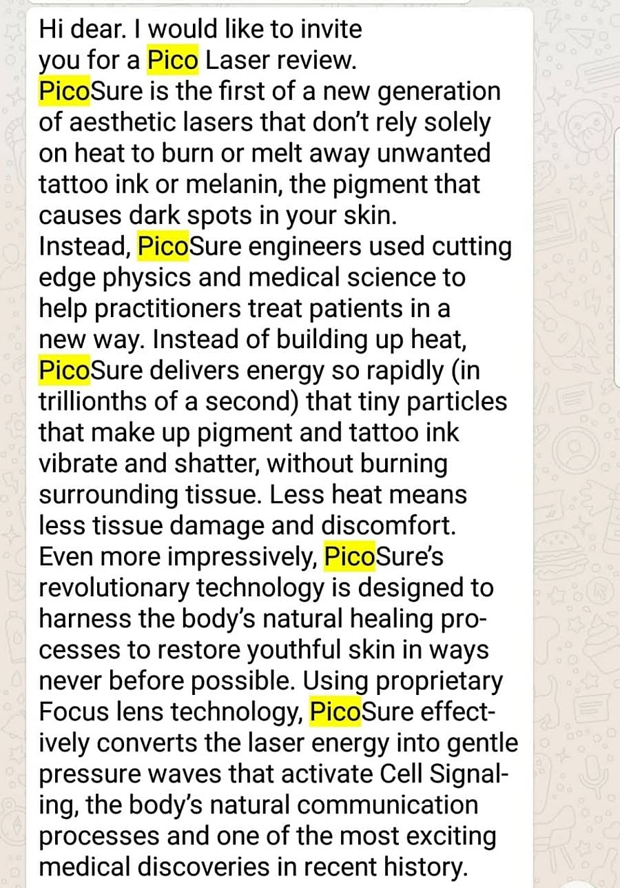 JQ Talks: You Sure About PicoSure Laser? Read This First