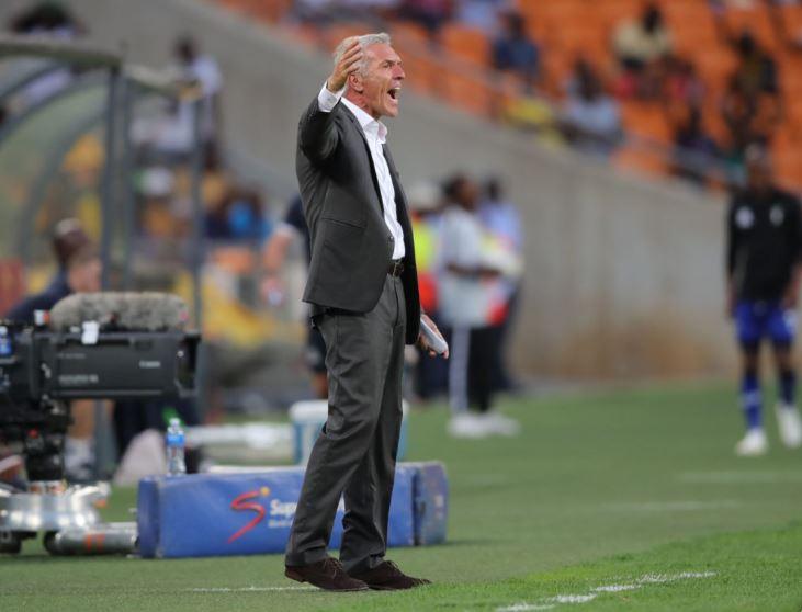Kaizer Chiefs head coach Ernst Middendorp
