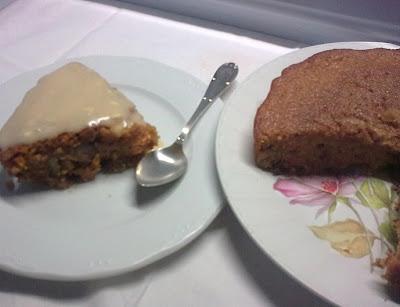 Pastel Vegano de Zanahoria y Queso