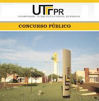 Apostila Concurso UTFPR 2016 - Universidade Tecnológica Federal do Paraná - PR.