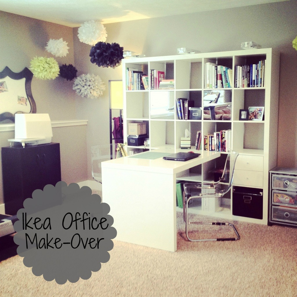 ikea office makeover. My Favorite Part Of The Office Are Clear Desk Chairs! They So Modern And Me! Everything Is Super Organized Just Way I Like It! Ikea Makeover