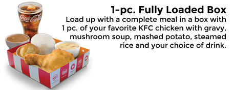 KFC Kiddie Party Food Package 1