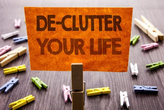 Declutter your life, make your life clutter free