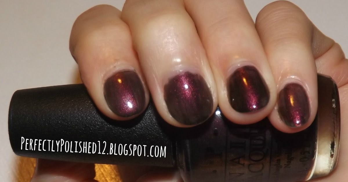 "Perfectly Polished 12: Perfectly Polished 12: OPI ""Muir Muir On The Wall"""
