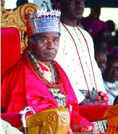 The Olu of Warri is Godfrey Emiko