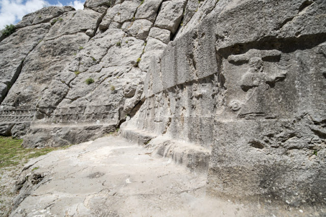 Intricate carvings at Hittite sanctuary claimed to depict lunar calendar