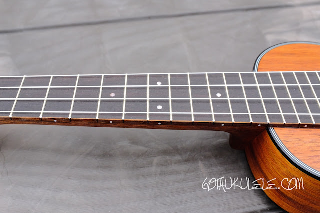 Cort UKE-BWS Soprano Ukulele neck