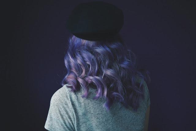 lilac wavy hair - moonshinefaerie