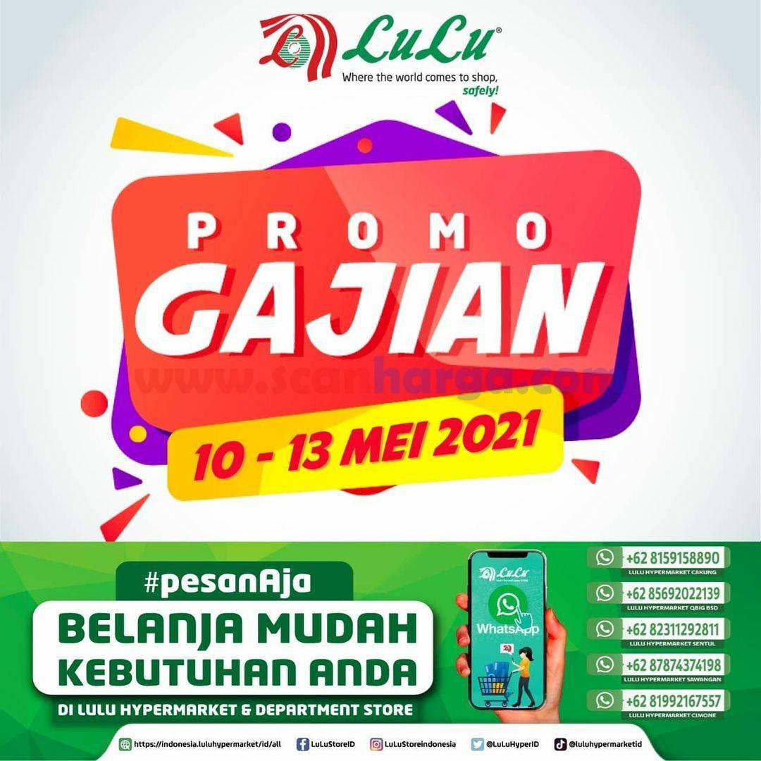 Katalog LULU Supermarket Promo GAJIAN periode 10 - 13 Mei 2021