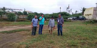 Geólogo do DNOCS marca perfuração de novos poços em Picuí