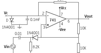 OP AMP BASED MONOSTABLE MULTIVIBRATOR 741 | MyCircuits9