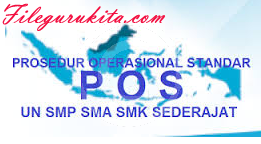 Kelengkapan Jadwal Penetapan Ujian Nasional UN 2017-2018 SD SMP MTS SMA SMK MA