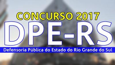 Concurso DPE-RS 2017