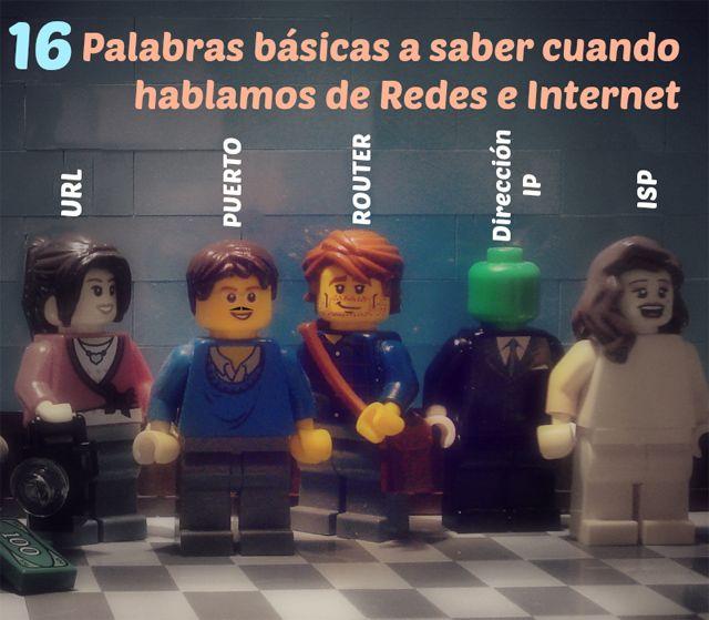 terminos y vocabulario de internet y redes mas usados