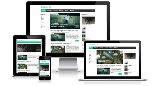 ExGPress 1.2 Blogger Template