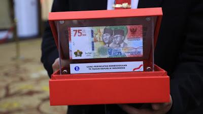 Wow, Uang Edisi Khusus Kemerdekaan Dijual Rp 50 Juta?