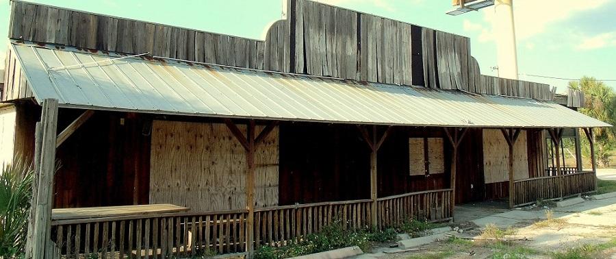 Motel abandonado en Goodno