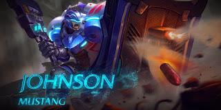 mustang johnson mobile legends new hero