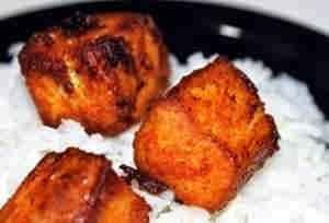 السمك المقلي على الطريقة الهندية