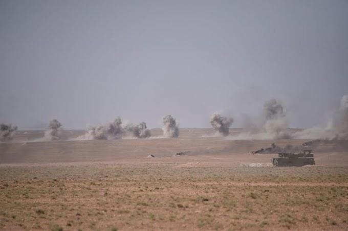 🚨 ورد الآن | أنباء عن عمليات قصف كثيف للجيش الصحراوي على قوات الإحتلال في منطقة الگرگرات.