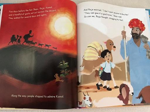 Raja's Pet Camel: The Magic of Hope by Anita Nahta Amin