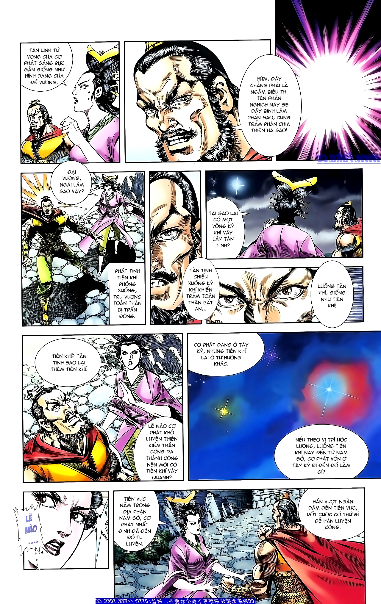 Cơ Phát Khai Chu Bản chapter 153 trang 10