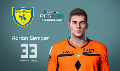 PES 2021 Faces Adrian Šemper by CongNgo