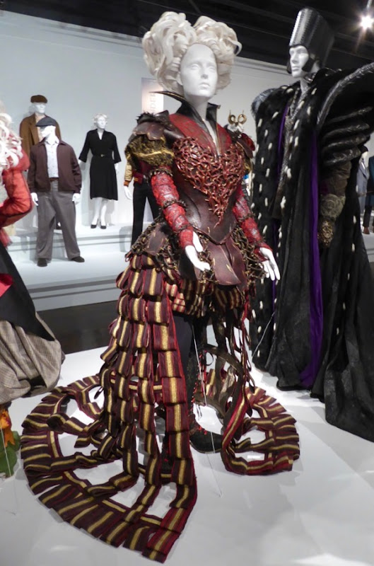 Helena Bonham Carter Alice Looking Glass Red Queen costume