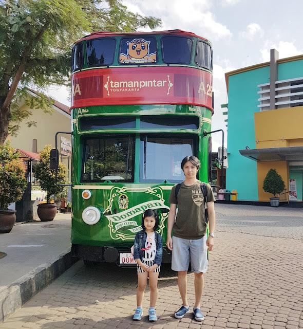 Taman Pintar Yoyakarta, kota yang penuh cerita dan romansa