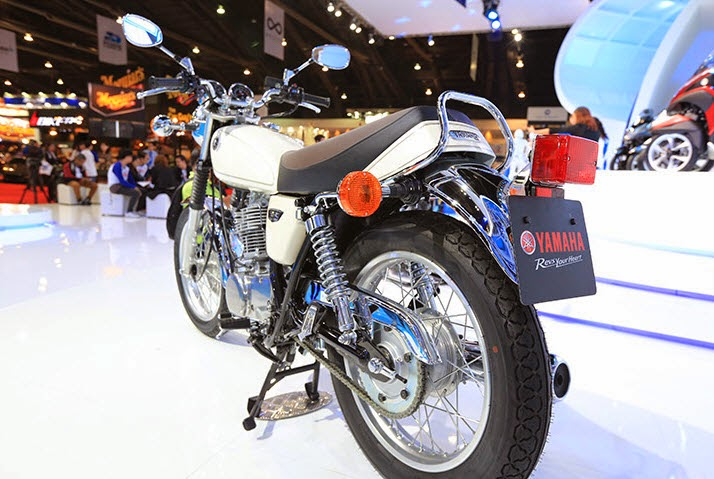 Newly Launch Yamaha Sr400 Review 2014 Bike Car Art