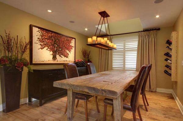 Ruang Tamu dengan Sentuhan Desain Kayu