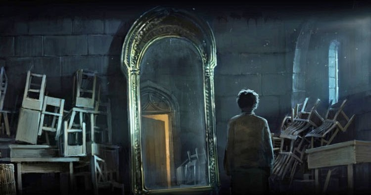 Potter Talk: How To Use The Mirror Of Erised To Unlock