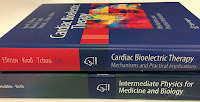 Cardiac Bioelectric Therapy: Mechanisms and Practical Implications, Edited by Efimov, Kroll, and Tchou, sitting on top of Intermediate Physics for Medicine and Biology.