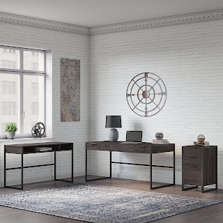 atria by kathy ireland writing desk set