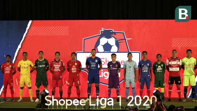 18 Klub Perkenalkan Jersey Terbaru di Launching Shopee Liga 1 202