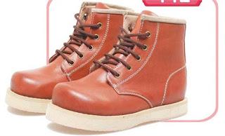 Sepatu Anak Laki-Laki Model Bertali BSM 419