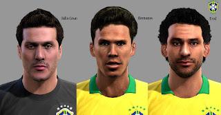 FacePack Seleção Brasileira Pes 2013