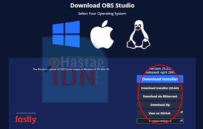 Download OBS Studio
