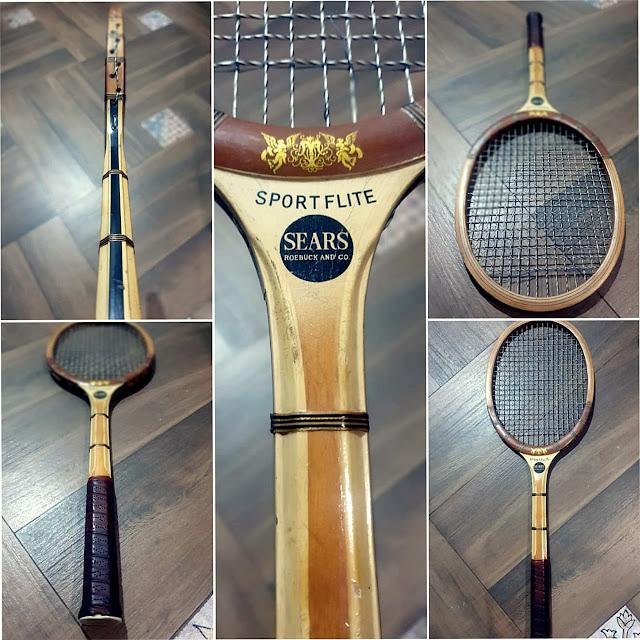 Intip Koleksi Raket Tenis Vintage Milik Bos JITA, Ada yang Berusia Seabad ! (2)