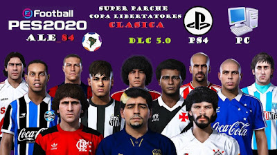 PES 2020 PS4 Option File Classic Libertadores